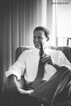 Looking back at my wedding photos. One of my favorite shots of Gary relaxing before the wedding. #wedding #groom
