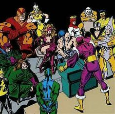 Masters Of Evil by John Buscema