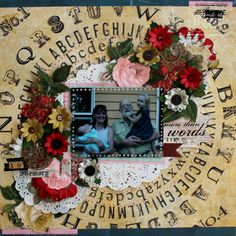 """"""" More then words"""" layout by Bernii Miller . - Scrapbook.com"""