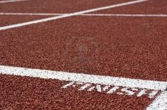 A Macro Picture Of A Track And Field Venue Royalty Free Stock Photo, Pictures, Images And Stock Photography. Image 2592022.
