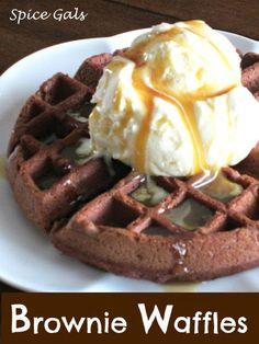 Spice Gals: Brownie Waffles