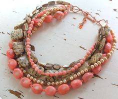 Ooooo I need to get some coral colors in my mix