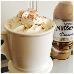 Vodka Mudshakes are a ready-to-drink, gluten free creamy premixed vodka beverage. Beverages, Drinks, Party Time, Vodka, Deserts, Sweets, Recipes, Food, Alcohol
