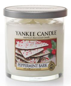 Another great find on #zulily! Peppermint Bark Tumbler Candle by Yankee Candle #zulilyfinds