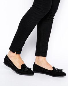 ASOS MARSHALL Flat Shoes