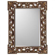 Paragon Rococo Antique Gold Mirror - 8614
