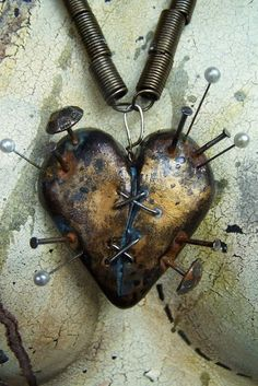 Voodoo heart by Madame Macabre More
