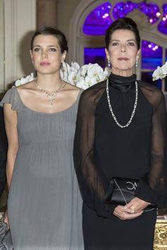 Charlotte Casiraghi and Pincess Caroline Louise Marguerite Grimaldi | House of Hanover House of Grimaldi