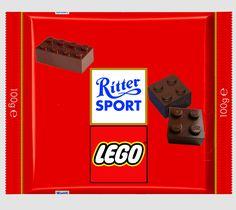 Ritter Sport Fake - LEGO
