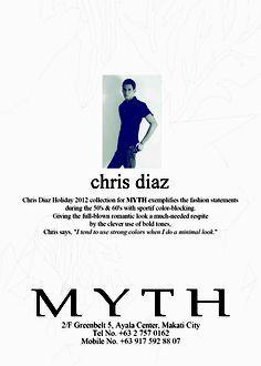 Chris Diaz for MYTH - Holiday 2012