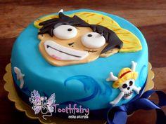 """one piece-Luffy"" cake"