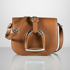 This Ralph Lauren Bag is a Sleek, Stirruped Fashion Statement trendhunter.com