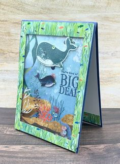 Z Cards, Fun Fold Cards, Folded Cards, Kids Cards, Octopus Card, Nautical Cards, Stampin Up Catalog, Stamping Up Cards, Shaker Cards