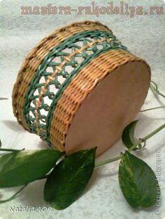 Мастер-класс по плетению из газет: Ажурный узор