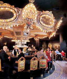 The amazing Carousel bar at the Hotel Monteleone  http://www.yelp.com/biz/carousel-bar-and-lounge-new-orleans