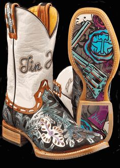 WHIP IT - Ladies Tin Haul Boots  Reg. $500.00 ON SALE FOR $450.00!  Check em out at www.cowboywaywesternstore.com