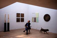 Painter and sculptor Xavier. David Alan Harvey, Online Publications, Magnum Photos, Barcelona, Spain, Colour, Photography, Color, Photograph