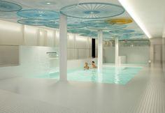 white spa_ white design_ gresite_ white swimming pool