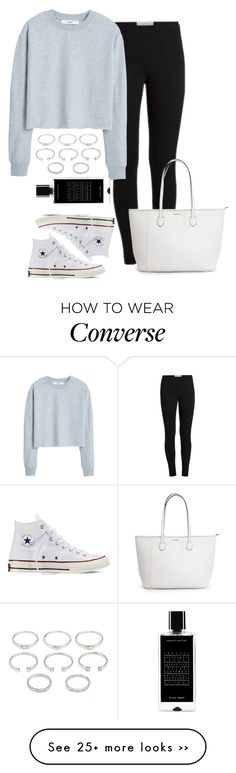 """""""Running Errands"""" by jasmineee338 on Polyvore featuring MANGO, Converse, Forever 21 and Agonist"""