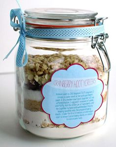 Biscuit mix in a jar