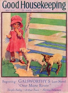 Good Housekeeping Magazine, May 1933 Old Magazines, Vintage Magazines, Vintage Postcards, Vintage Ads, Vintage Stuff, Vintage Pictures, Vintage Images, Magazine Art, Magazine Covers