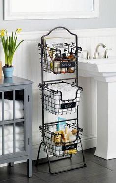 05 cool small bathroom storage organization ideas