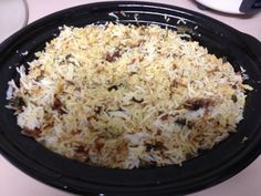 Dum style chicken biriyani using a slow cooker