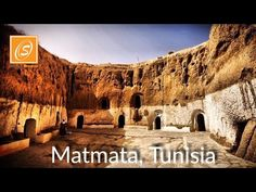 """Matmata City Tour , Tunisia Matmata is a small Berber speaking town in southern Tunisia. Some of the local Berber residents live in traditional underground """". Underground Building, Star Wars Episode Iv, Filming Locations, North Africa, Virtual Tour, The Locals, Monument Valley, Mount Rushmore, Grand Canyon"""