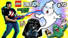 Lets Build & Play LEGO Dimensions #13: MARSHMALLOW FACES! S'more Ghostbusters (FGTEEV Messy Pt. 2) - YouTube