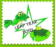 Leap year activities, but also fun frog activities to do...lily pad living room, hide the frog and more