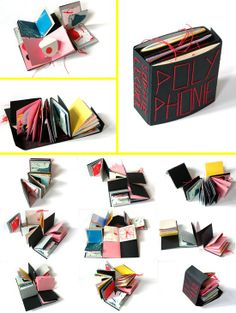 Polyphonie, 2009 - Paper Craft by Sophie Lécuyer Paper Book, Paper Art, Book Crafts, Paper Crafts, Libros Pop-up, Buch Design, Book Sculpture, Book Projects, Handmade Books