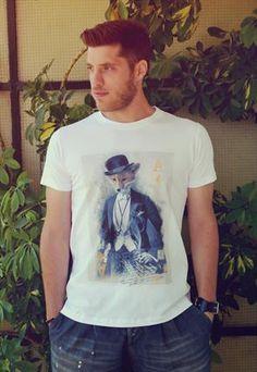 Mr.Fox T-Shirt  £19.90  #fox #t-shirt #printed