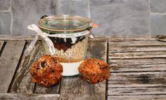 Selbstgemachte Backmischung für Oreo Keks Muffins