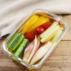 自家製浅漬けの素 Vegan Recipes, Cooking Recipes, Sandwich Recipes, Japanese Food, Pickles, Sandwiches, Food Porn, Food And Drink, Meals