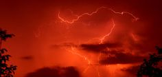 red thunderstorm