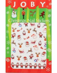 Nail Sticker / Nail Art - Holiday Collection -Christmas No.1 -- Find out more about the great product at the image link.