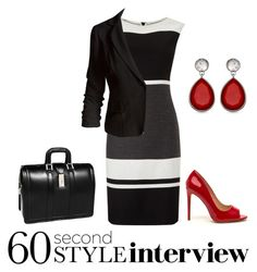 Interview Impressions by classychic92 on Polyvore featuring polyvore, fashion, style, Phase Eight, Sans Souci, McKleinUSA, clothing, jobinterview and 60secondstyle
