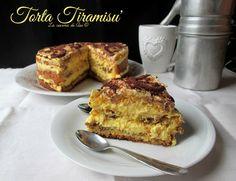 La torta Tiramisu' è un tripudio di bontà di gusto di sapore perfetto e godurioso...Ricetta dolce cremosa La cucina di ASI