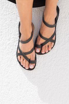 Sale Sandalen Sandalen aus Leder Sandalen von TriskelionSandals