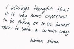 -Emma  Stone