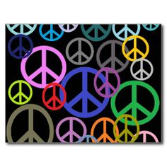 Peace Everywhere Postcards (x2)