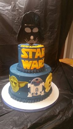 May the force be with you. Wray too Good custom cakes.