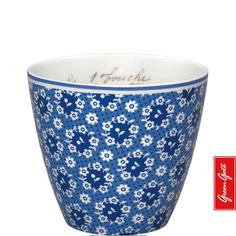 Greengate latte cup Fay blue