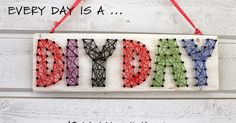 Hemlines and hepeneitä: DIY wire flat - String art DIY Diy Craft Projects, Diy Crafts For Kids, String Art, Frame, Fun Things, Sewing Ideas, Home Decor, Wire, Picture Frame