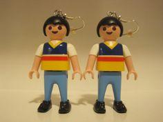 Pendientes playmobil :: Aladino :: von nosgustanlosretros auf DaWanda.com