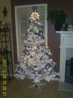 My Colts Christmas tree! | Colts Christmas | Pinterest ...
