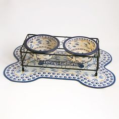 temp-tations® by Tara: temp-tations® Small Doggie Bowls with Matching Rack & Mat ***** PLEASE MAKE THIS IN LARGE DOG *****