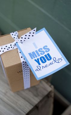 I Miss You Already is a beautiful sentimental moving away gift idea to give your loved ones to remember you by. #happythoughts #imissyoualready