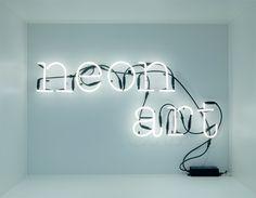 Neon art - Seletti via Detaljfabriken. Click on the image to see more!