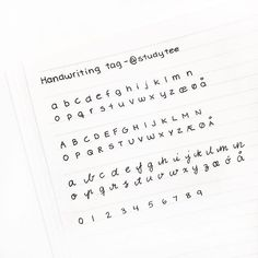 Handwriting Practice and Pencil Grips – Improve Handwriting Handwriting Template, Handwriting Examples, Handwriting Alphabet, Handwriting Styles, Calligraphy Handwriting, Handwriting Practice, Hand Lettering Alphabet, Notes Handwriting, Chalk Lettering